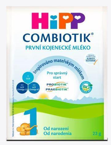 První kojenecké mléko HIPP combiotik 1 2x22g novorozenec BIO