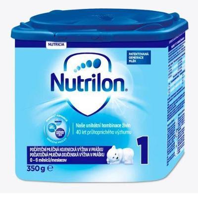 Nutrilon 1 počáteční mléčná výživa 1 kojenecké mléko 350g