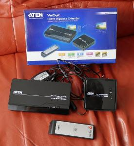 Aten VE-809 HDMI bezdrátový přenos videa až do 30m, 100% stav