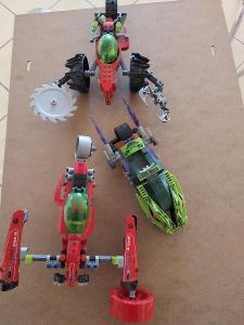 Složené LEGO Ninjago a Atlantis