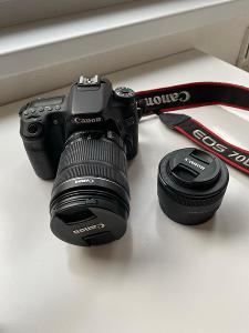Canon EOS 70D + 2 objektivy