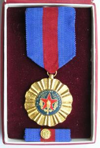 Medaile - Za mimořádné zásluhy - hasič - číslovaná