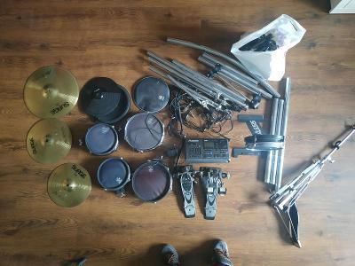 ALESIS DM 10 Pro Elektronické bicí + ( MAPEX T756B Limitovaná edice! )