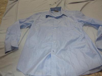 košile pánská-dámská modrá