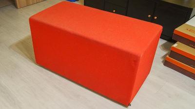 Červené sedatko Buzzi Space, celkem 3 kusy