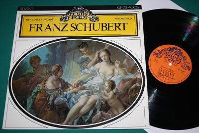 SCHUBERT - Rosamunda a Nedokončená - mint - 1973 - ROMANTICKÁ KRÁSA!