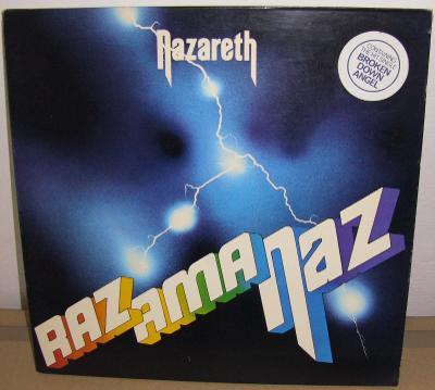 Originál  NAZARETH - RAZAMANAZ LP UK první vydání /1st PRESSING   1973