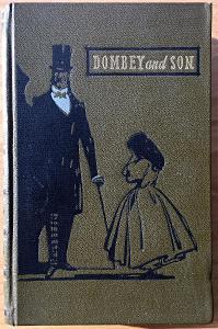 Charles Dickens - Dombey and son, anglicky, 1. a 2. díl - dva svazky