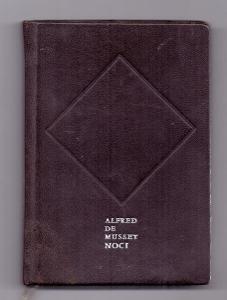 ALFRED de MUSSET - NOCI # básně # ve slovenském jazyce