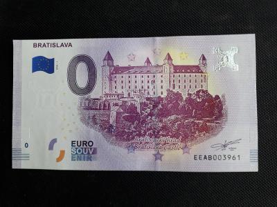 0 EUR BANKOVKA BRATISLAVA , 2018 , CHYBOTISK !!!
