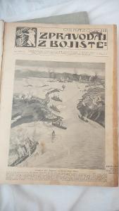 Obrazový zpravodaj z bojiště z roku 1904/05-kompletní 104ks zpravodajů