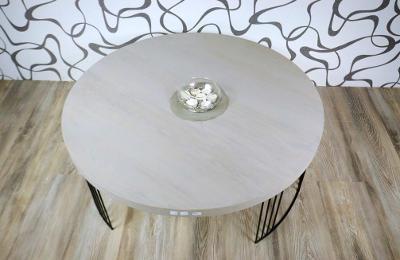 Konferenční stolek dřevolaminát/ kov (10738B) E