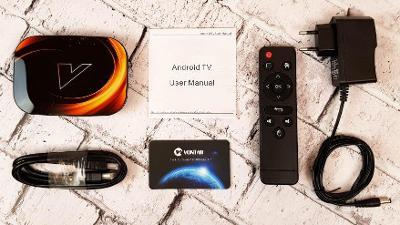 Android TV box Vontar X3 4GB/128GB 8K