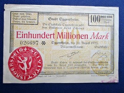 378* 100.000.000Mark - 1923 - Eggersheim