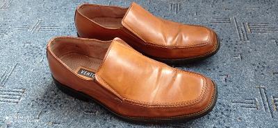 Ventorini č. 42-pánská nazouvací společenská kožená značková obuv