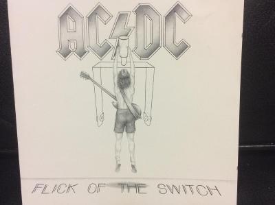 AC/DC: FLICK OF THE SWITCH, REEDICE Z RKU 1988, SUPER STAV, OD KORUNKY