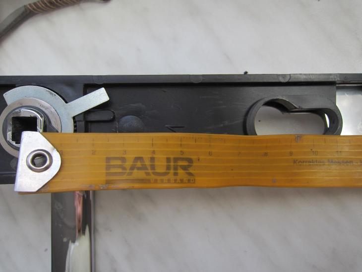Kování bezpečnostní FAB S2/90 souprava klika - koule - Zabezpečovací systémy