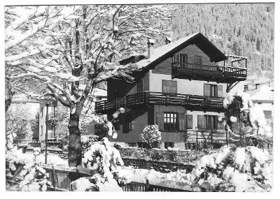 5 ITÁLIE  PREDAZZO   VILA MADDALENA  1966