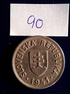 Slovenský štát, 50 halier 1941