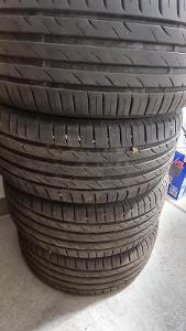 4 kusy zánovních letníc pneumatik Nexen N'Blue HD Plus 215/45 R16 86H