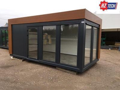 RYCHLÉ DORUČENÍ Zahradní kontejner / konstrukční kontejner 6,0 x 3,0 m