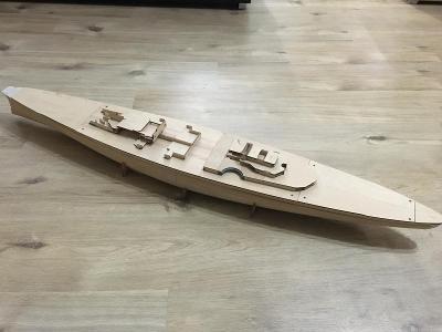 Model bitevní lodi Bismarck
