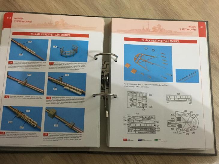 Model bitevní lodi Bismarck  - Modelářství