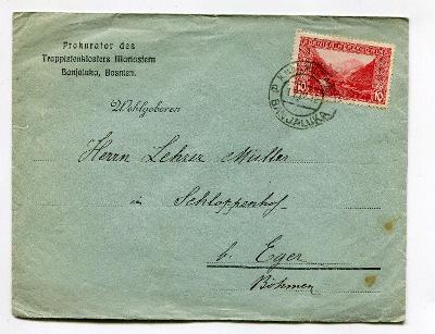 BOSNA A HERZEGOVINA - BANJA LUKA - OBÁLKA 1912 ? /AP 32-1