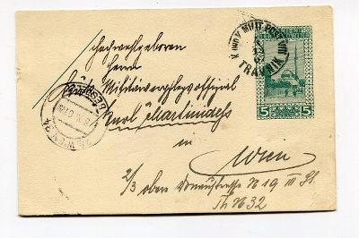 BOSNA HERZEGOVINA - TRAVNIK - LÍSTEK 1907      /AP 32-5