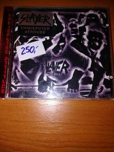 Prodám CD Slayer -Undisputed Attitude