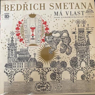 Bedřich Smetana, Česká Filharmonie, Václav ... – Má Vlast - 2 x LP