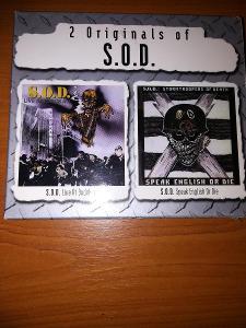 Prodám 2CD S.O.D. - Live At Budokan / Speak English Or Die