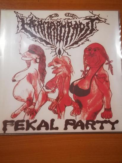 Prodám LP Hermaphrodit - Fekal Party - Hudba