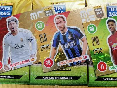 Fotbalové karty  FIFA 365 - 2021 : Sada 3. BALÍČKY + 3 LIMITED !