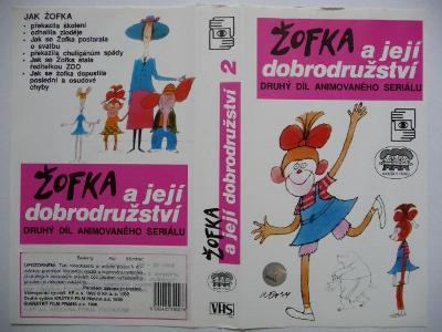 Žofka a její dobrodružství 2. díl - ČR 1988