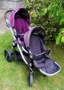 Dvojkočárek Baby Jogger City Select (lze i jako standardní kočár)
