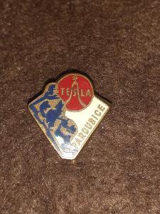 odznak Tesla Pardubice- lední hokej
