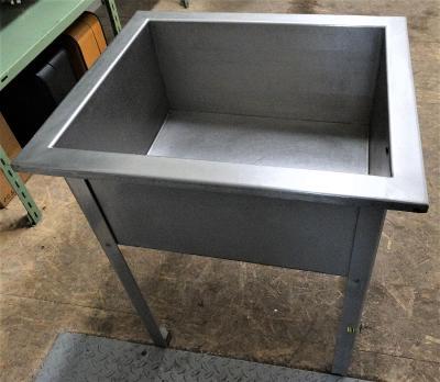 Stůl mycí jednodřezový nerez