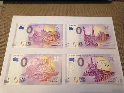 Eurové bankovky mix