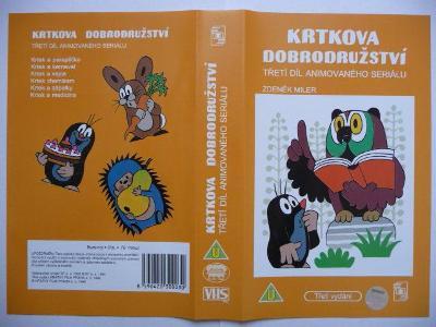 Krtkova dobrodružství - 3. díl - ČR
