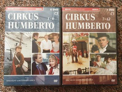 Cirkus Humberto DVD 12 dílů , kompletní seriál