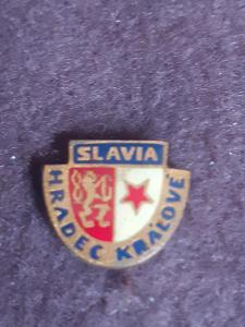 odznak  Slavia Hradec Králové