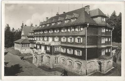 PUSTEVNY - hotel Tanečnica - Beskydy - Vsetín