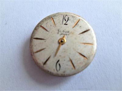 Strojek do hodinek Slava*2-521