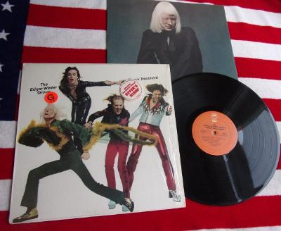 💥 LP: EDGAR WINTER GROUP - SHOCK TREATMENT, jako nové,1press USA 1974