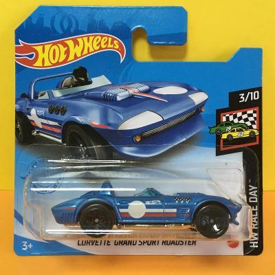 horší obal - Corvette Grand Sport Roadster Hot Wheels 37/250 (D9-37)