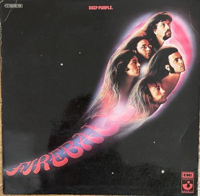 LP Deep Purple – Fireball, EX, vypraná