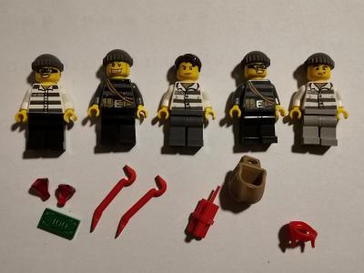 LEGO City sada lupiči + příslušenství