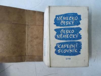 Kniha Slovník němčina čeština výuka jazyků
