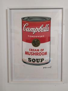 ANDY WARHOL CAMPBELL´S SOUP